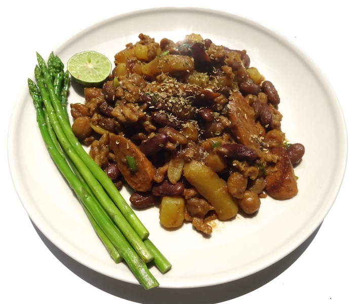 Vegan Chickpea Bean Stew