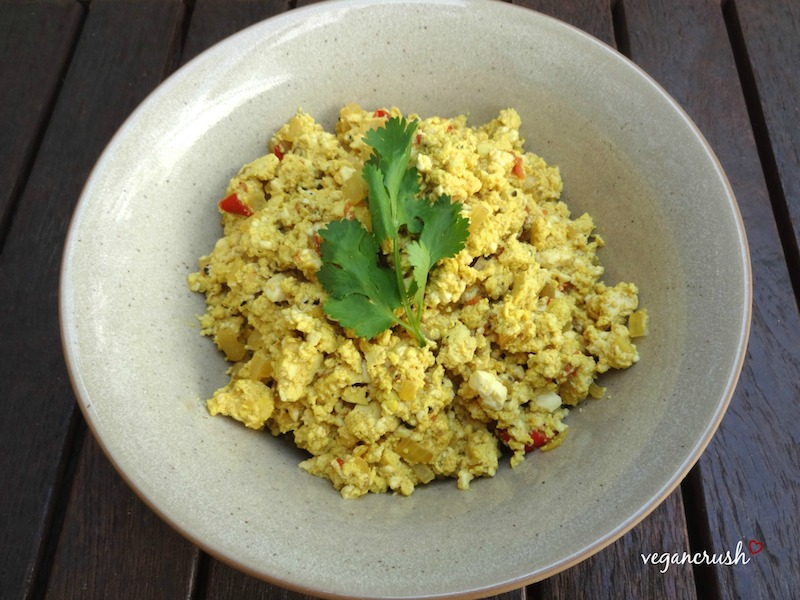 Vegan Scramble Egg
