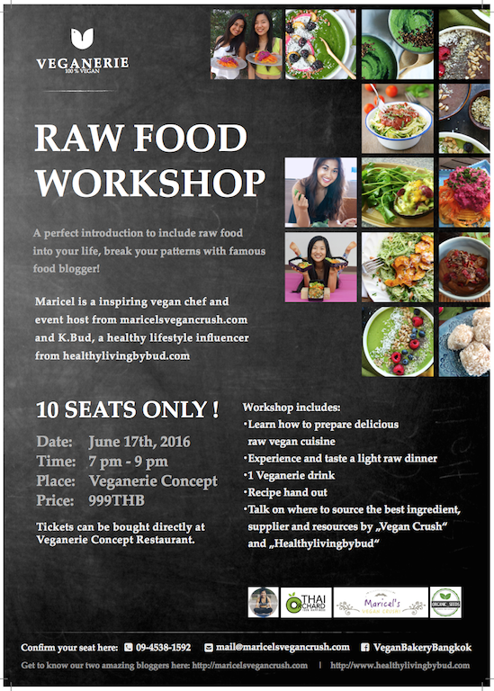 Raw Vegan Workshop at Veganerie Bangkok