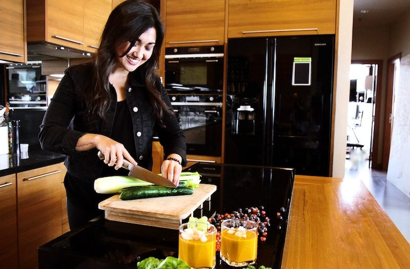 Plant-based cuisine, raw food chef maricel lukkanit aka vegan crush