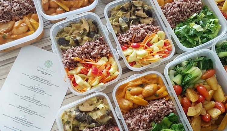 Vegan Crush Weekly Meal Preparation