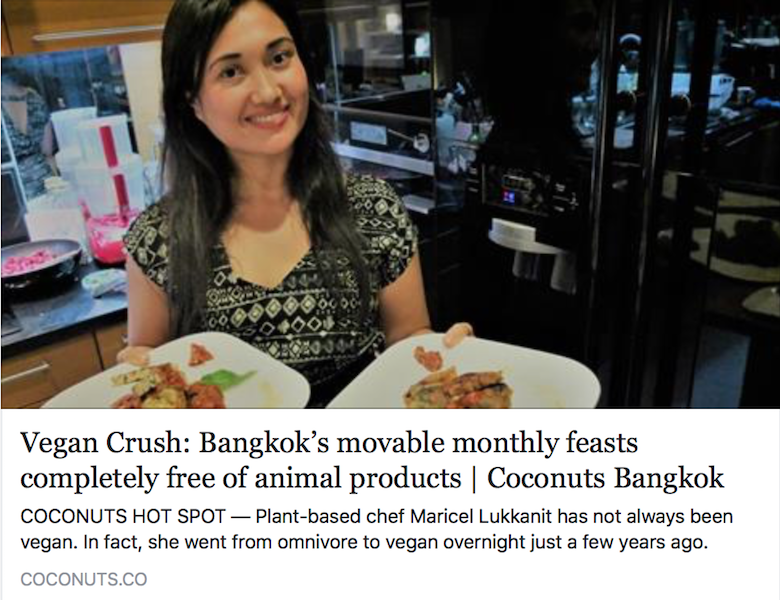 Coconuts News Bangkok, cuisine, gourmet plant-based food