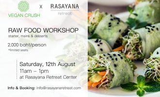 VEGAN CRUSH food workshop