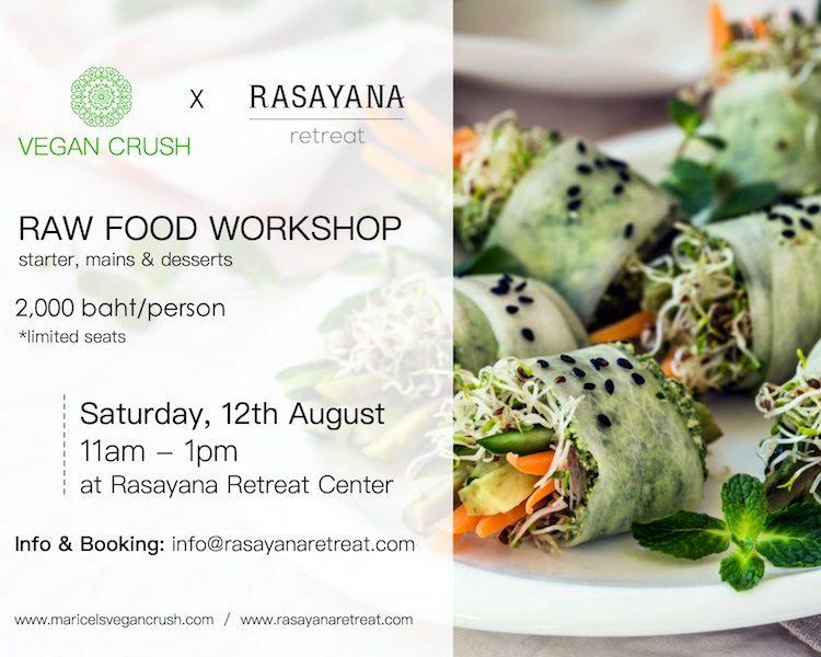 VEGAN CRUSH food workshop