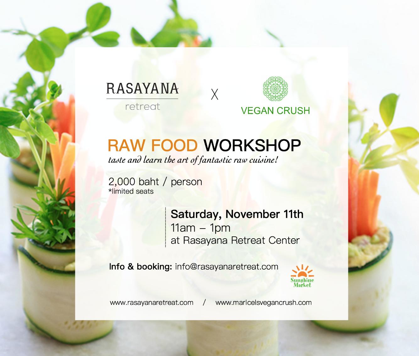 Food Workshop, Vegan, Vegetarian