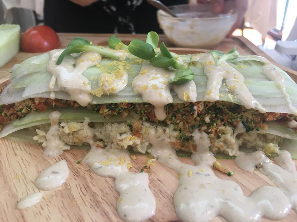 raw lasagna by chef maricel lukkanit